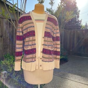 Trible Print Cardigan   Mossimo Supply Co